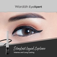 WARDAH EYELINER LIQUID EYELINER WATERPROOF ORIGINAL