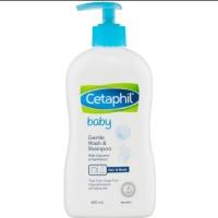 Cetaphil baby gentle wash and shampoo 400 ml PUMP