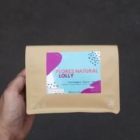 FLORES NATURAL LOLLY - Biji Kopi Arabika (Roasted) 200gr for Filter