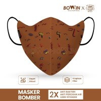 Bowin Masker Bomber Filosofi Kopi Original 100%