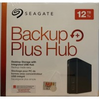 Seagate Backup Plus Hub Desktop 12TB - HDD External 3 years warranty