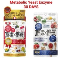 Metabolic Yeast Enzyme for Diet & Beauty 30 Hari isi 60 Tablet