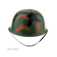 Helm Tentara Motif Camo Untuk Anak Laki-Laki Perempuan Bermain Peran
