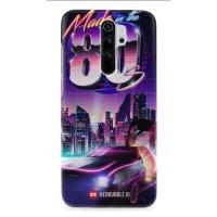 Casing Hard case Redmi Note 8 9 7 6 3 Pro Delorean Back To 80s Ii