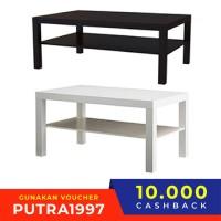 LACK Meja untuk TV uk 90x26x45 cm, pilihan warna putihhitam