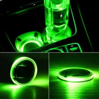 Alas Gelas Universal dengan Lampu LED untuk Dekorasi Interior