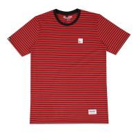 Breakside Red Black Stripe Tshirt S8