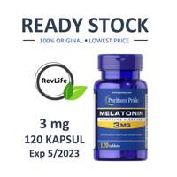 Puritan Pride Melatonin 3 mg 120 tablets Puritans Puritan's
