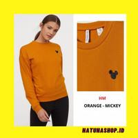 Divided H&M Sweatshirt (ORANGE MICKEY)