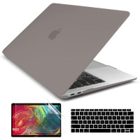 Batianda Hard Case Macbook Air 13 inch 2020 Matte Grey
