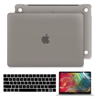 Batianda Hard Case Macbook Pro 13 inch 2020 Matte Grey