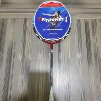 Raket Badminton Flypower Tornado 900 900N N Bonus Tas dan Kaos