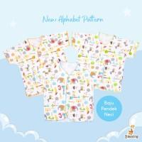 Blessing babywear-baju bayi tangan pendek neci-NB-