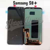 LCD TOUCHSCREEN SAMSUNG S8 PLUS S8+ G955 ORIGINAL BLACK KONTRAS - HG