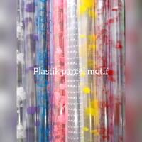 Plastik parcel souvenir motif isi 10 lembar