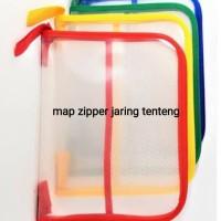 Map Zipper jaring tenteng / Map seleting tenteng
