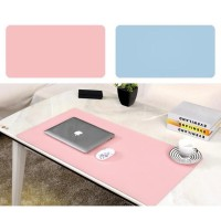 PU Leather Extra Large Tatakan Mouse Pad Double Side Desk Pad