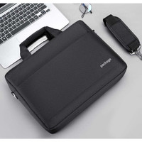 Tas Laptop Selempang Package Briefcase Waterproof 14 15 inch