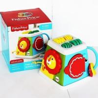 Mainan Aktivitas Bayi Fisher Price Take & Turn Activity Infant Cube
