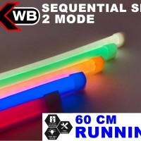 LAMPU DRL 60 CM SEQUENTIAL SIGNAL LIGHT RUNNING SEIN MERK XWB