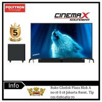 POLYTRON CINEMAX SOUNDBAR LED TV-PLD 43B150