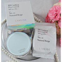 [FULL SET + REFILL] Laneige BB Cushion Pore Control SPF 50PA++