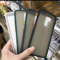 Xiaomi Redmi 9 9A 9C Case Dove Matte Transparan Angelic Fuze Macaron