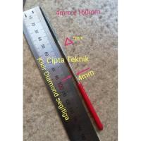 Kikir Diamond Segitiga 4mm x 160mm - Kikir Intan