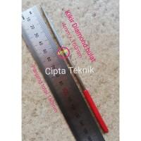 Kikir Diamond Bulat 4mm x 160mm - Kikir Intan