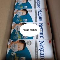 masker nexcare carbon 4ply/masker kesehatan 4 ply/masker medis earloop