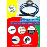 Kabel Aux in Audiophile Home Car audio 3.5mm to 3.5mm HandyCables BUMI
