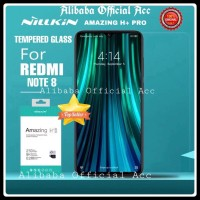 XIAOMI REDMI NOTE 8 TEMPERED GLASS NILLKIN AMAZING H+ PRO ORIGINAL