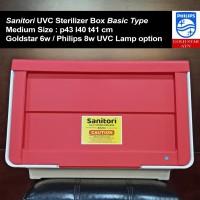 uvc sterilizer/sanitizer box sanitori basic type uv c medium size