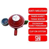Poligas Regulator Gas LPG Tekanan Rendah Clip On System PG 0207 S