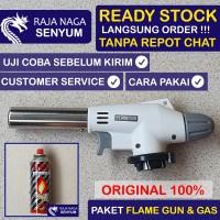 Paket Bundling Kepala Gas Portable Las Fire Torch Blow Flame Gun MURAH