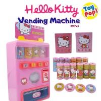 Mainan Anak Talking Vending Machine Hello Kitty Berbicara dan Menyala