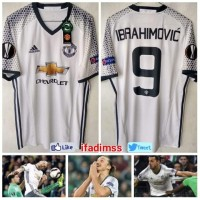 Jersey Manchester United Away 3rd 2016-2017 Original Ibrahimovic
