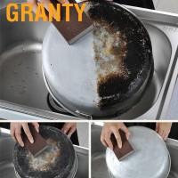 4pcs Spons Pembersih Peralatan Dapur Rumah Tangga Untuk Cuci Piring
