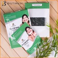 √10 Biutimask Spirulina Masker Wajah Alami Untuk Kulit Berminyak