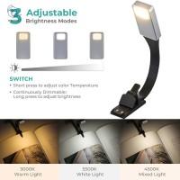 Lampu Baca Fleksibel Adjustable Usb Dengan Klip On Untuk