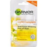 GARNIER LIGHT COMPLETE MULTI WHITENING PEEL OFF MASK - MASKER WAJAH