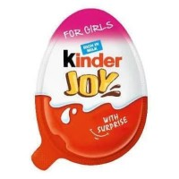 Kinder Joy Chocolate with Surprise for Girl 20gr