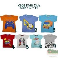 Kaos Anak Kids Club Boy Series size S