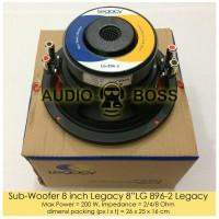 """Speaker Subwoofer 8 inch Legacy 8"""" LG 896-2 / Subwoofer 8"""" Legacy"""