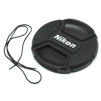 OMCSFVBK Penutup Lensa Kamera Nikon Lens Cap 67mm - Black
