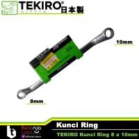 Tekiro Kunci Ring 8 x 10 mm - Kunci Ring Tekiro 8x10 mm