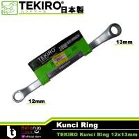 Tekiro Kunci Ring 12 x 13 mm - Kunci Ring Tekiro 12x13 mm