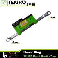 Tekiro Kunci Ring 6 x 7mm - Kunci Ring 6x7 mm Tekiro