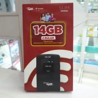 MODEM WIFI MIFI HKM 4G BUNDLING PAKET TELKOMSEL 14GB