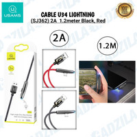 USAMS U34 KABEL GAMING IPHONE LIGHTNING CHARGER CABLE GAMER FAST 2A